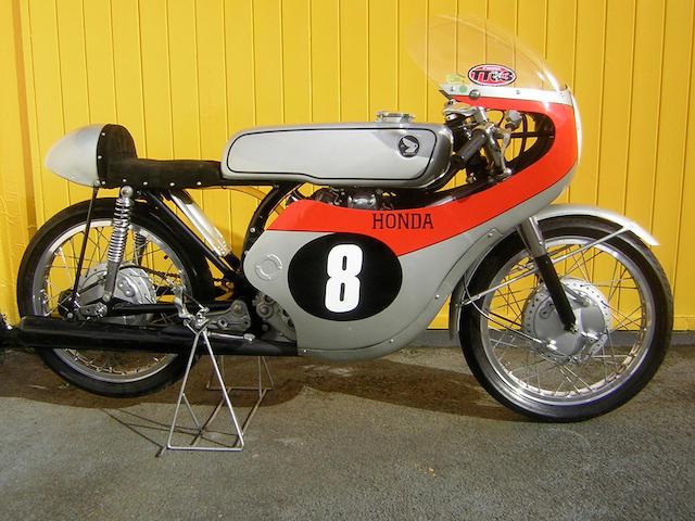 1963 Honda 125cc CR93 Racing Motorcycle  Frame no. CR93 0087 Engine no. CR93E 3100139