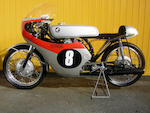 1963 Honda 125cc CR93 Racing Motorcycle