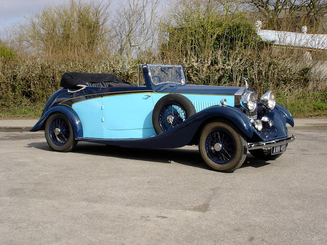 1934 Rolls-Royce 20/25hp Drophead Coupe  Chassis no. GWE26 Engine no. F8P