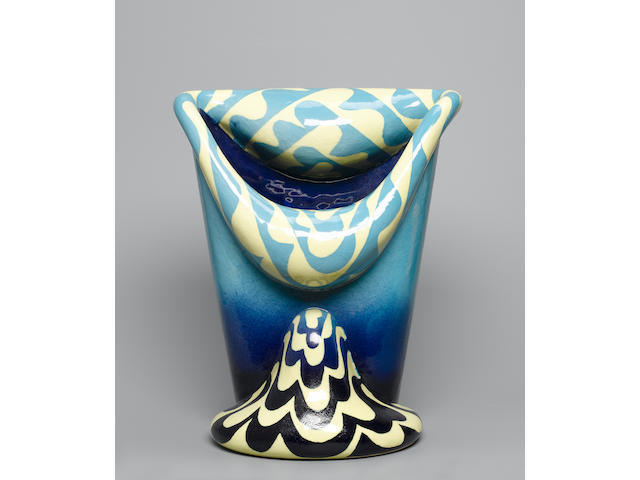 Mutsuo Yanagihara an 'open mouth' Vase Height 14 3/4in. (37.5cm)