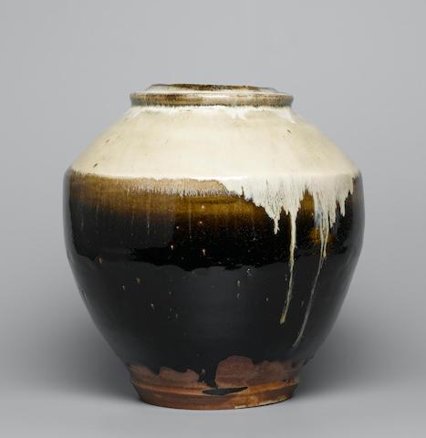 Hamada Shoji a large Jar Height 24.8cm (9 3/4in.)