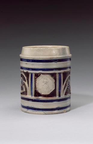 A Westerwald mug circa 1690