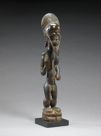 Baule male figure Blolo Bian 45cm.