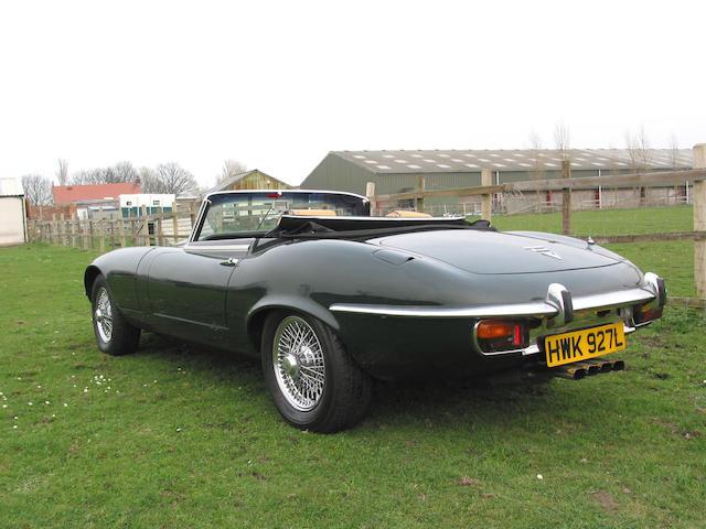 1973 Jaguar E-Type Series III 6.3-Litre V12 Roadster UD1S74539BW
