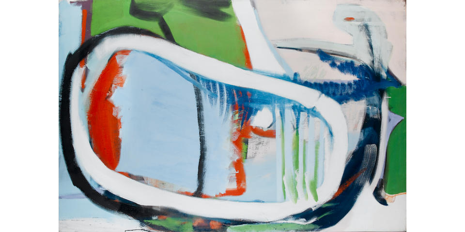 Peter Lanyon (1918-1964) Lake, Opus 338 122 x 183 cm. (48 x 72 in.)
