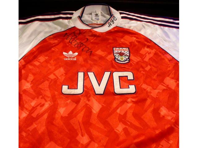 Paul Merson match worn shirt,