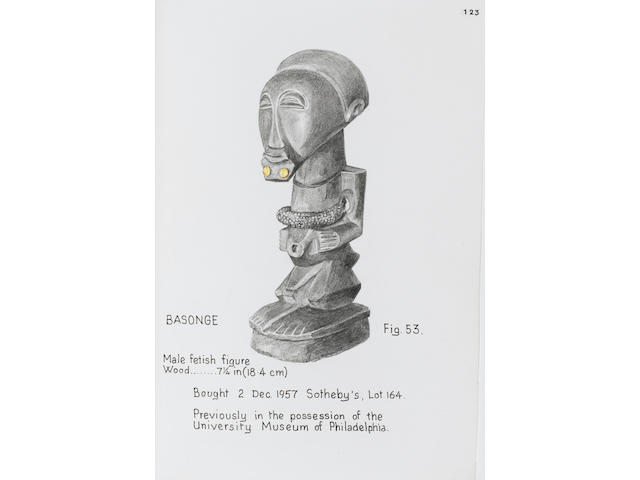 Songye male fetish figure  18.4cm