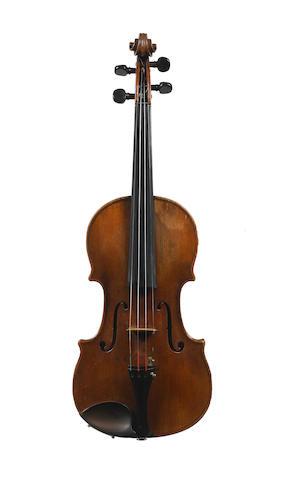 A Violin by Joseph Gagliano Naples 1770