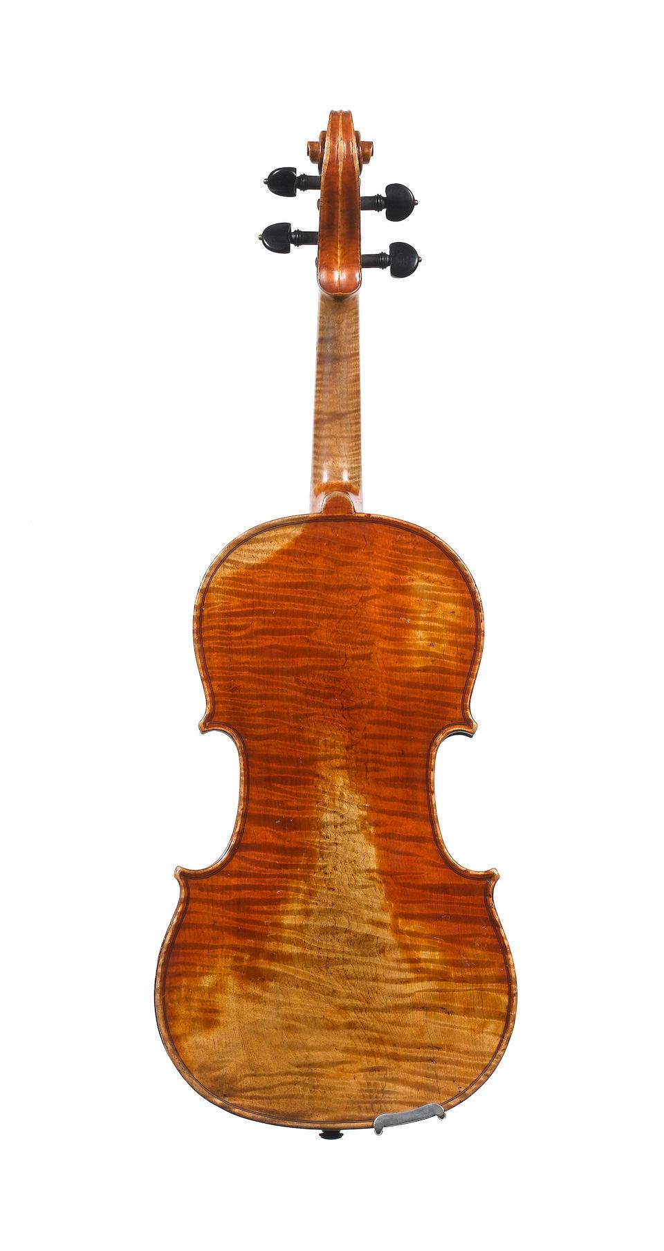 A fine French Violin by H Derazey, France circa 1850