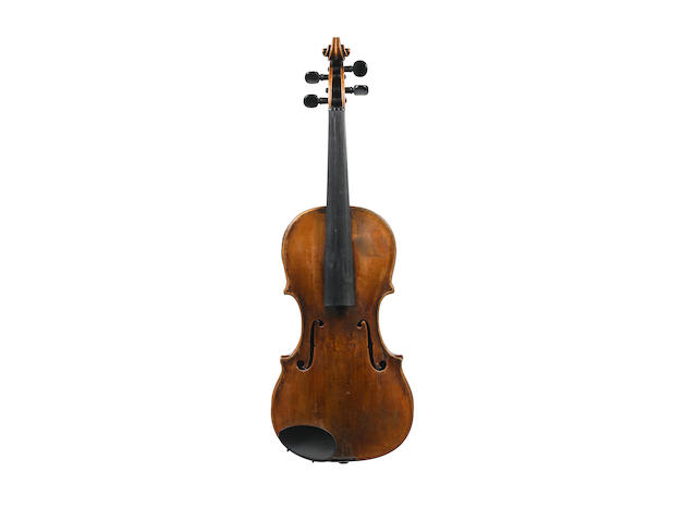 An Italian violin  possibly by Pellizon