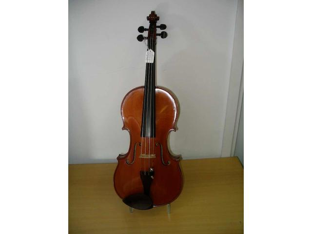 A good French Deblaye Viola 1924