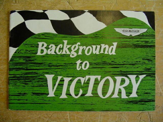 Aston Martin, Background to Victory: T H Wisdom,