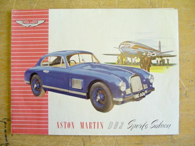 Aston Martin DB2 sales brochure,