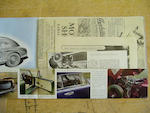 Aston Martin DB2 sales brochure,