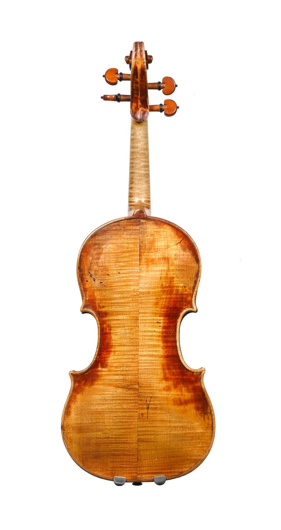 A fine Milanese Violin, probably by Giovanni Grancino Milan circa 1720