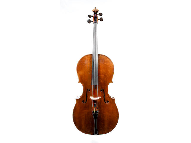 A fine English Violoncello by Benjamin Banks,Salisbury 1774
