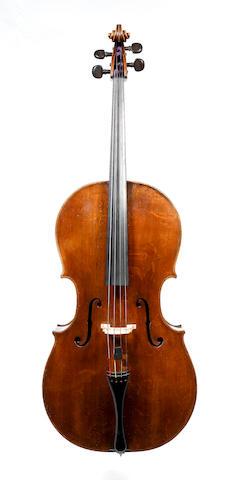 A fine English Violoncello by Benjamin Banks,Salisbury 1774