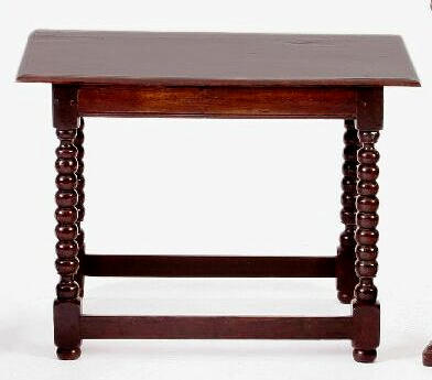 A late 17th Century side oak table,