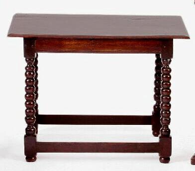 A late 17th Century side oak table,