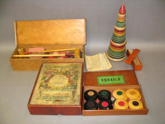 Victorian Parlour games,