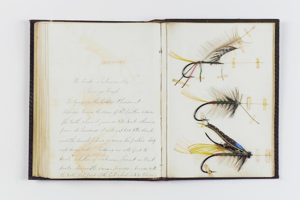 Bonhams : RICHARDSON (MERVYN) The Fly Maker's Manual  Presented (by