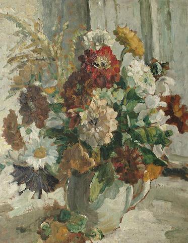 Dorothea Sharp (British, 1874-1955) Floral Arrangement 50 x 40cm (19 3/4 x 15 3/4in)