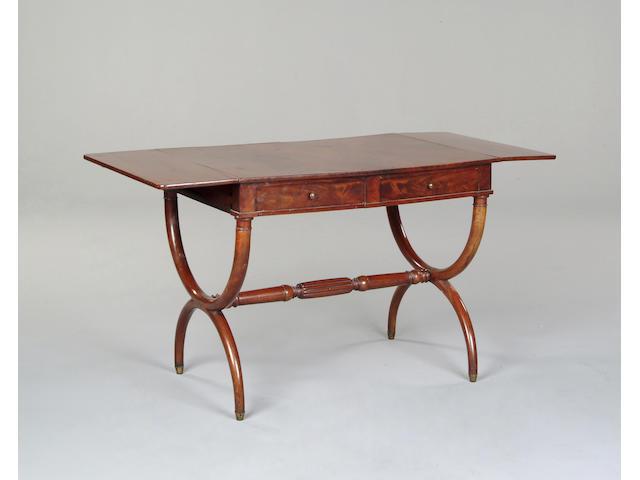 A Charles X mahogany sofa table