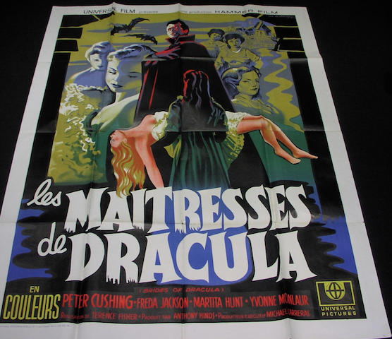 The Brides Of Dracula, 1960