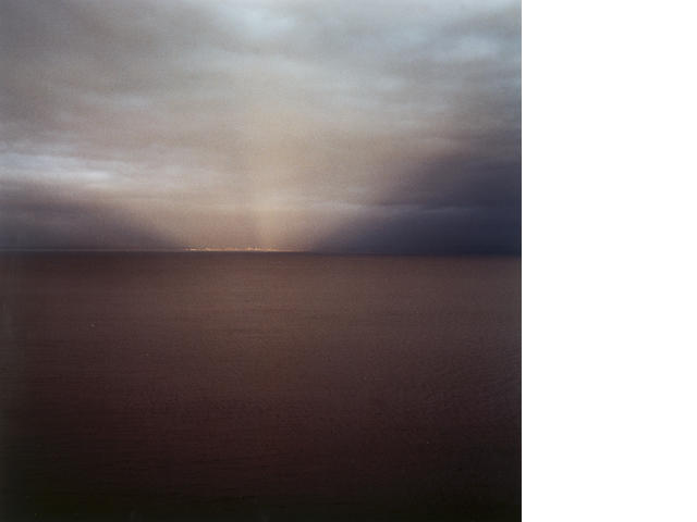 Garry Fabian Miller (b.1957) Sections of England - The Sea Horizon, No 37 49.5 x 49.5 cm. (19 1/2 x
