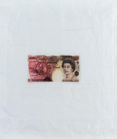Gavin Turk (b. 1967) 40 x 39 cm. (15 3/4 x 15 1/4 in.)