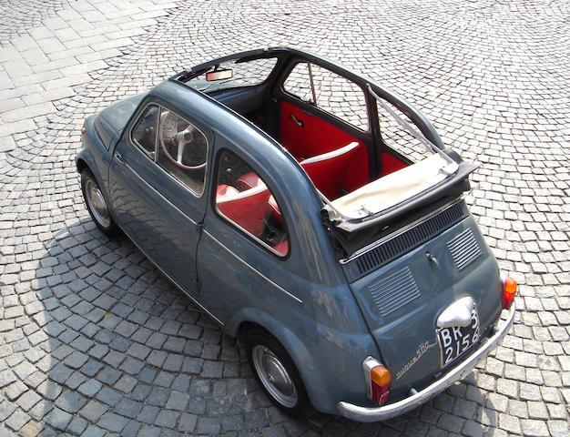 1964 Fiat 500 Nuova Transformabile  Chassis no. 693205