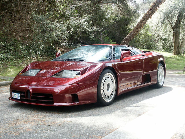 One owner and 7,045 km from new,1994 Bugatti EB110GT Coupé  Chassis no. ZA9AB01SORCD39071