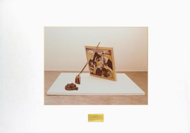 Braco Dimitrijevic (b.1948) Triptychos Post Historicus (Kandinsky) 44 x 60 cm. (17 1/4 x 23 5/8 in.)