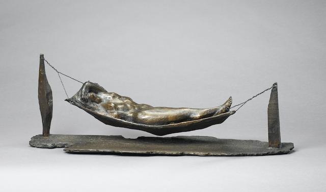 Michael Ayrton (British, 1921-1975) Hammock 81.2 cm. (32 in.) long