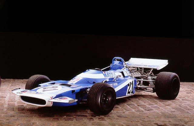 The Ex-Henri Pescarolo,1970 Matra MS120 Formula 1 Racing Single-Seater  Chassis no. MS120-02