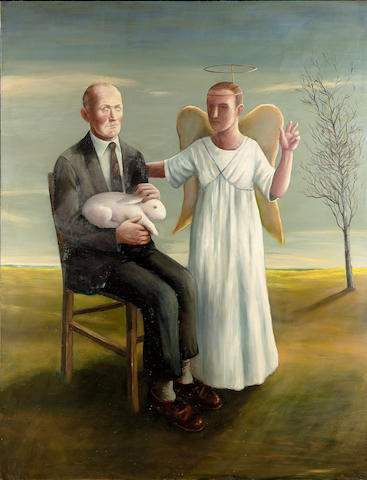 John Kirby (b.1949) The Holy Family 205.8 x 160 cm. (81 x 63 in.)