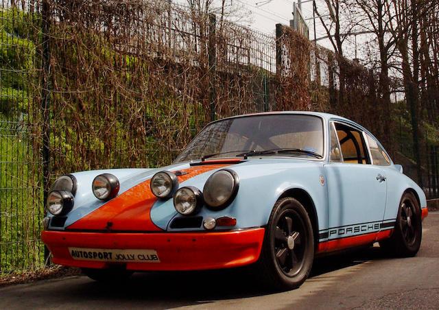 Ex-Works/ Jo Siffert/ 'Le Mans' film,1967 Porsche 911R Lightweight Road/ Competition Coupé  Chassis no. 118 99 004R
