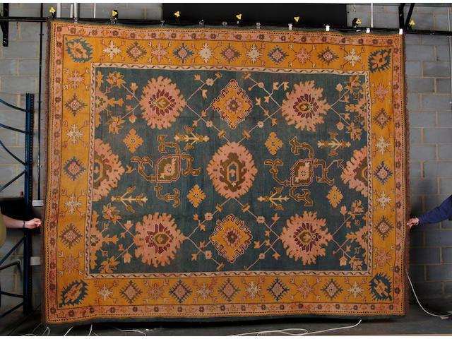 An Ushak carpet West Anatolia, 380cm x 300cm