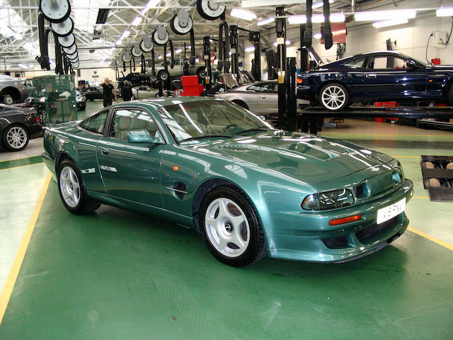 One owner from new,1999 Aston Martin Vantage Le Mans Coupé  Chassis no. SCFDAM251XBL70247 Engine no. 590/R/70247/MLM
