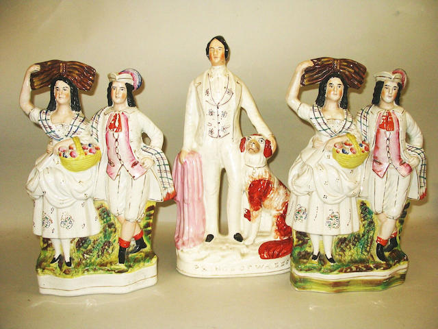 A Staffordshire figure of the Prince of Wales,