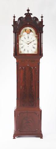 A George III mahogany Longcase Clock,George Gillett, Manchester