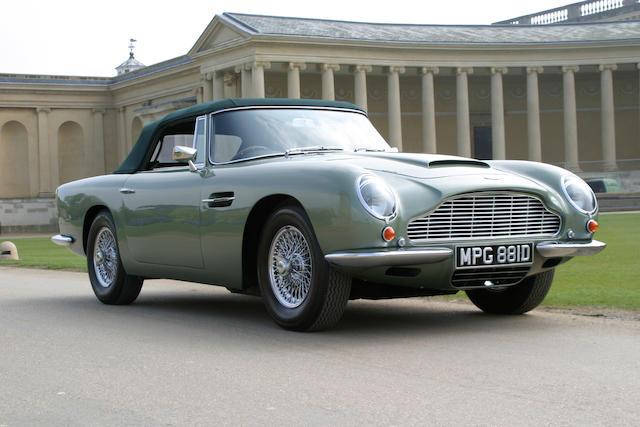 1966 Aston Martin  DBVC/2322/R