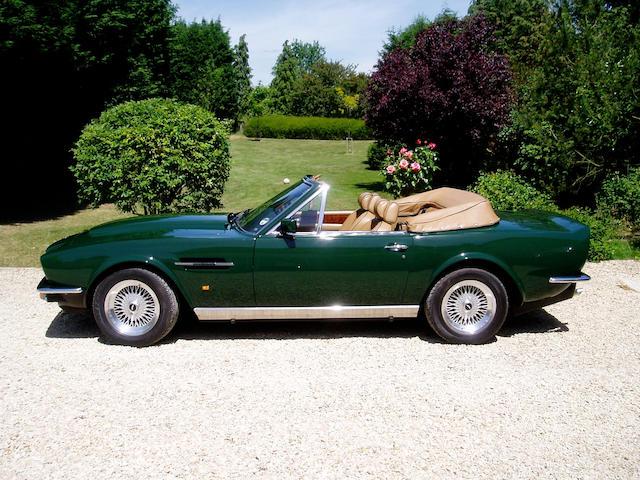 1988 Aston Martin Vantage Volante 'Prince of Wales/Ecurie Ecosse' SCFCV81VOJTR15665