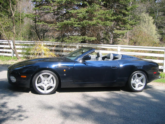 2003 Aston Martin DB AR1 Roadster  Chassis no. SCFAE62313K800039 Engine no. AM2A/00373
