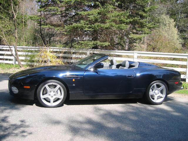 2003 Aston Martin DB AR1 Roadster  Chassis no. SCFAE62313K800039 Engine no. AM2A/00373