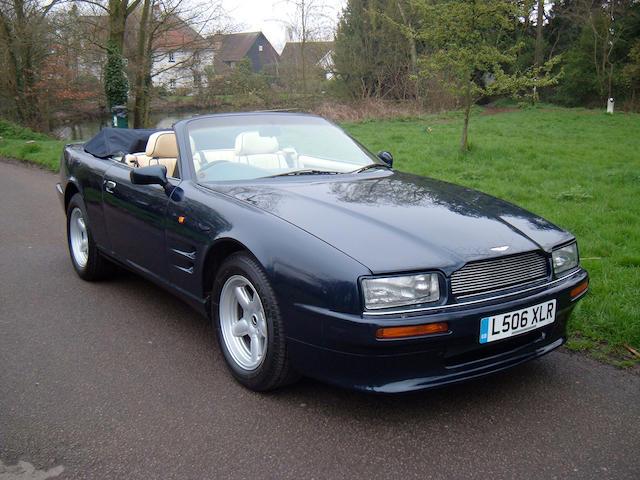1993 Aston Martin Virage Volante Convertible  Chassis no. SCFDAM1CXPBR60053 Engine no. 89/60053/A