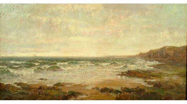 John Falconar Slater (1857-1937) An extensive seascape 101 x 189.5cm.