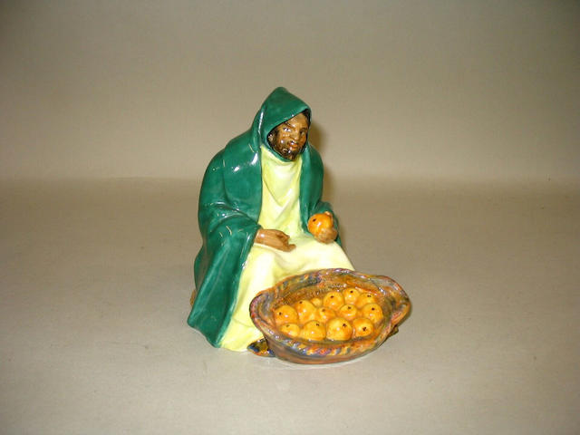 A Royal Doulton figure 'Orange Vendor',