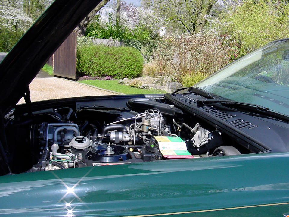 1992 Bentley Continental R Coupé  Chassis no. SCBZB0SAXNCH42018 Engine no. 76201L410I/TKN