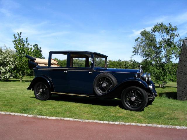 1933 Rolls-Royce 20/25hp Landaulette  Chassis no. GXB 43 Engine no. K5G